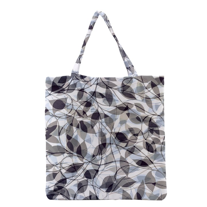 Leaves Pattern Colors Nature Design Grocery Tote Bag