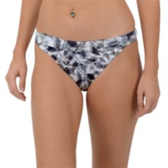 Leaves Pattern Colors Nature Design Band Bikini Bottom by Vaneshart