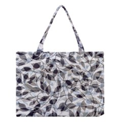 Leaves Pattern Colors Nature Design Medium Tote Bag by Vaneshart