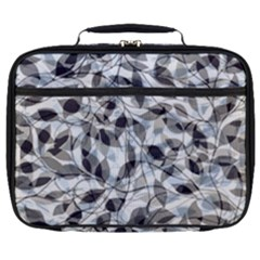 Leaves Pattern Colors Nature Design Full Print Lunch Bag by Vaneshart