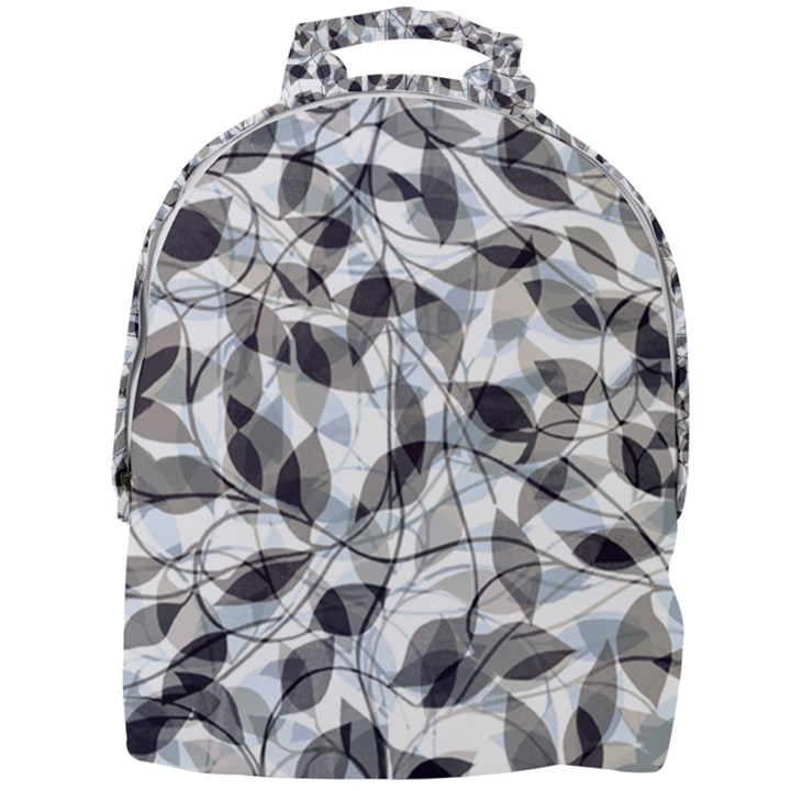 Leaves Pattern Colors Nature Design Mini Full Print Backpack