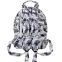 Leaves Pattern Colors Nature Design Mini Full Print Backpack View2