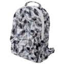Leaves Pattern Colors Nature Design Flap Pocket Backpack (Small) View1