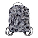 Leaves Pattern Colors Nature Design Flap Pocket Backpack (Small) View3