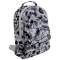 Leaves Pattern Colors Nature Design Flap Pocket Backpack (Large) View2