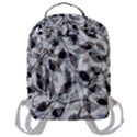 Leaves Pattern Colors Nature Design Flap Pocket Backpack (Large) View3