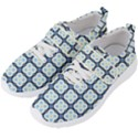 Pattern Design Art Scrapbooking Geometric Cubes Men s Velcro Strap Shoes View2