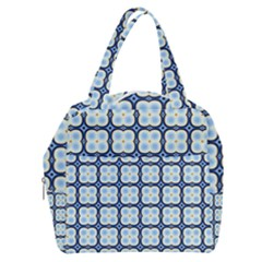 Pattern Design Art Scrapbooking Geometric Cubes Boxy Hand Bag by Vaneshart