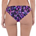 Christmas Paper Star Texture Reversible Hipster Bikini Bottoms View4