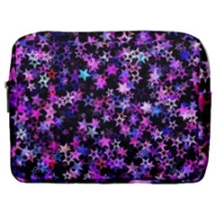 Christmas Paper Star Texture Make Up Pouch (large)