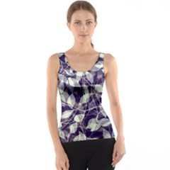 Leaves Pattern Colors Nature Design Tank Top by Vaneshart