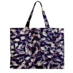Leaves Pattern Colors Nature Design Zipper Mini Tote Bag by Vaneshart