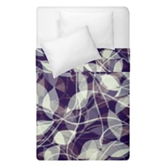 Leaves Pattern Colors Nature Design Duvet Cover Double Side (single Size)
