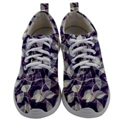 Leaves Pattern Colors Nature Design Mens Athletic Shoes