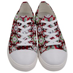Christmas Happy Holidayw Women s Low Top Canvas Sneakers