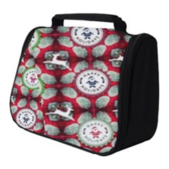 Christmas Happy Holidayw Full Print Travel Pouch (small)