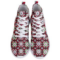 Christmas Happy Holidayw Men s Lightweight High Top Sneakers