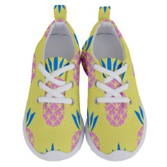 Summer Pineapple Seamless Pattern Running Shoes by Sobalvarro