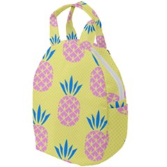 Summer Pineapple Seamless Pattern Travel Backpacks by Sobalvarro