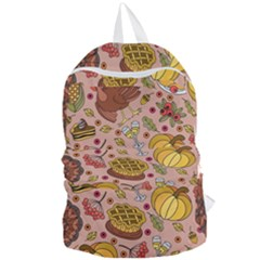 Thanksgiving Pattern Foldable Lightweight Backpack by Sobalvarro