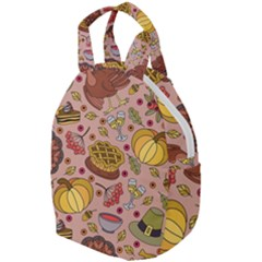 Thanksgiving Pattern Travel Backpacks by Sobalvarro