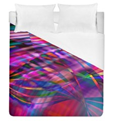 Wave Lines Pattern Abstract Duvet Cover (queen Size)
