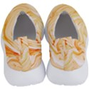 Orange liquid marble No Lace Lightweight Shoes View4