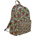 Colorful Modern Geometric Print Pattern The Plain Backpack View2