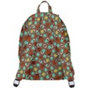Colorful Modern Geometric Print Pattern The Plain Backpack View3