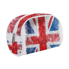 Grunge Union Jack Makeup Case (small)