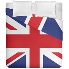 United Kingdom Flag Duvet Cover Double Side (california King Size) by goljakoff
