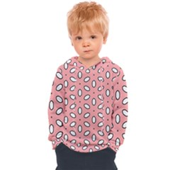 Pink Background Texture Kids  Overhead Hoodie