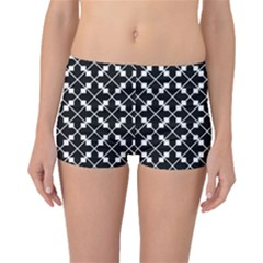 Abstract Background Arrow Boyleg Bikini Bottoms