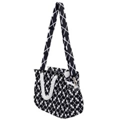 Abstract Background Arrow Rope Handles Shoulder Strap Bag