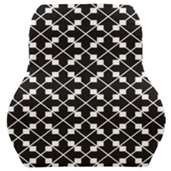 Abstract Background Arrow Car Seat Back Cushion