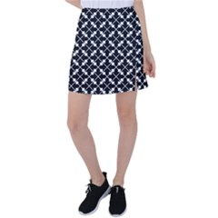 Abstract Background Arrow Tennis Skirt