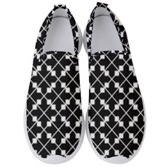 Abstract Background Arrow Men s Slip On Sneakers
