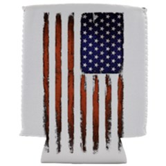 Grunge American Flag Can Holder
