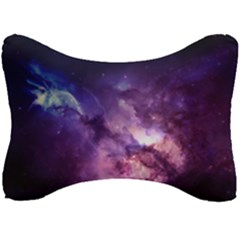 Purple Space Seat Head Rest Cushion