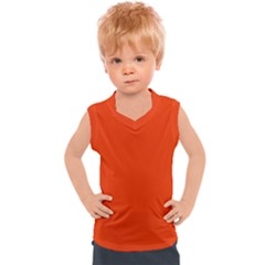 Cherry Tomato Kids  Mesh Tank Top
