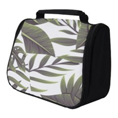Green Leaves Full Print Travel Pouch (small)
