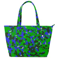 Abstract Organic Pattern Back Pocket Shoulder Bag