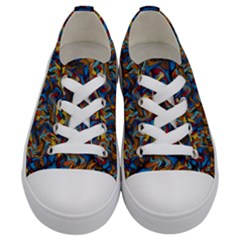 Ab 105 1 Kids  Low Top Canvas Sneakers