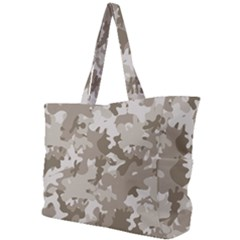 Tan Army Camouflage Simple Shoulder Bag by mccallacoulture