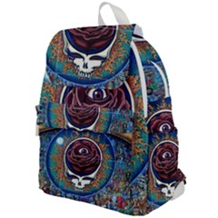 Grateful Dead Ahead Of Their Time Top Flap Backpack