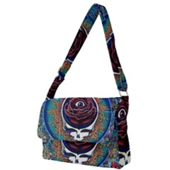 Grateful Dead Ahead Of Their Time Full Print Messenger Bag (l)