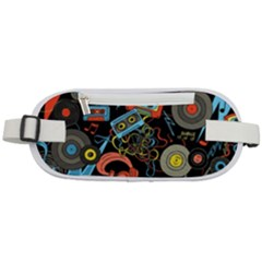 Music Pattern Rounded Waist Pouch