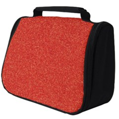 Red Glitter Full Print Travel Pouch (big)