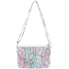 Flowers Double Gusset Crossbody Bag