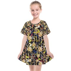 Festive And Celebrate In Good Style Kids  Smock Dress by pepitasart